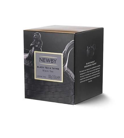 Black & Thyme Newby (czarna z tymiankiem)