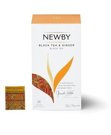 Black Tea & Ginger Newby (Czarna z imbirem) 25