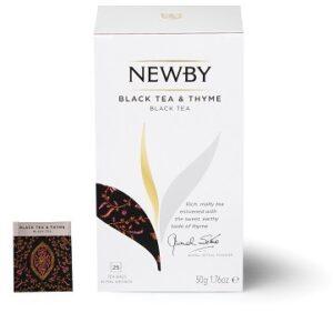 Black tea & Thyme (Czarna z tymiankiem) 25 szt.