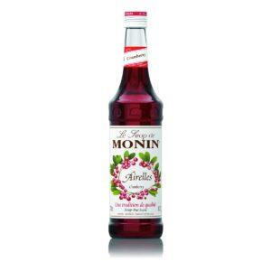 Syrop żurawinowy MONIN Cranberry