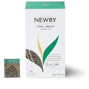 Earl Green Newby (Zielona z bergamotką) 25 szt.