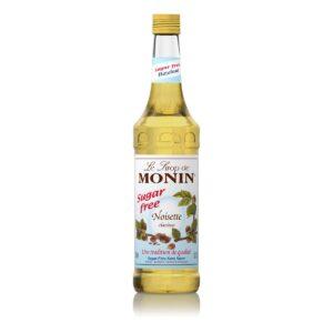 Syrop orzech laskowy bez cukru MONIN Hazelnut Sugar-Free