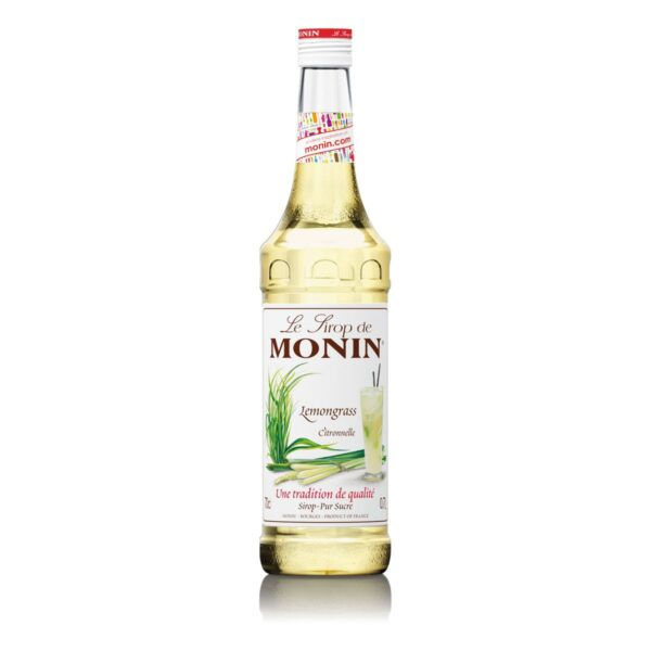Syrop trawa cytrynowa MONIN Lemongrass