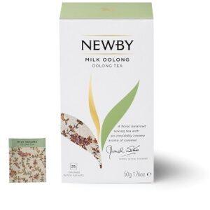 Milk Oolong Newby (Z aromatem mleka) 25 szt.
