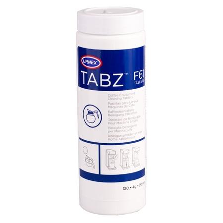 Urnex Tabz F61 - Tabletki do ekspresów przelewowych - 120 sztuk