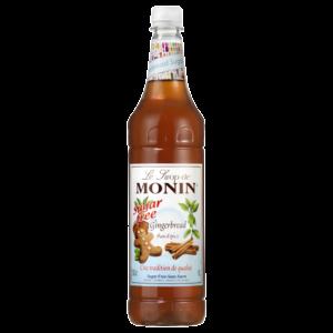 Syrop piernikowy bez cukru MONIN Gingerbrea Light
