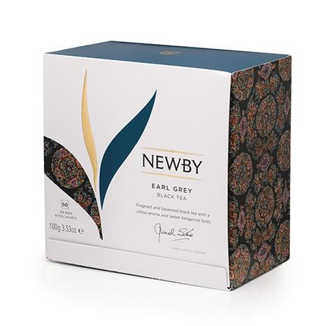 Earl Grey Newby (Czarna z bergamotką) 50 szt.