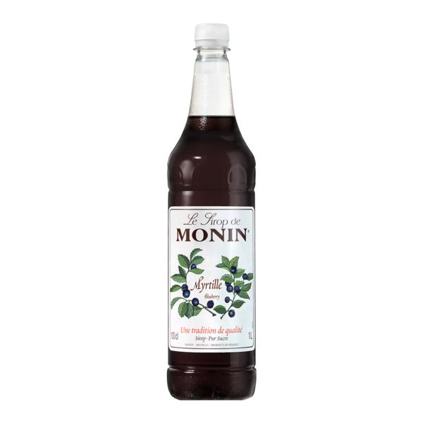 Syrop jagodowy MONIN Blueberry 1L PET