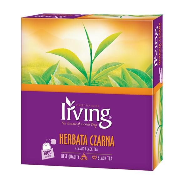 Herbata Irving czarna 1000 kopertek