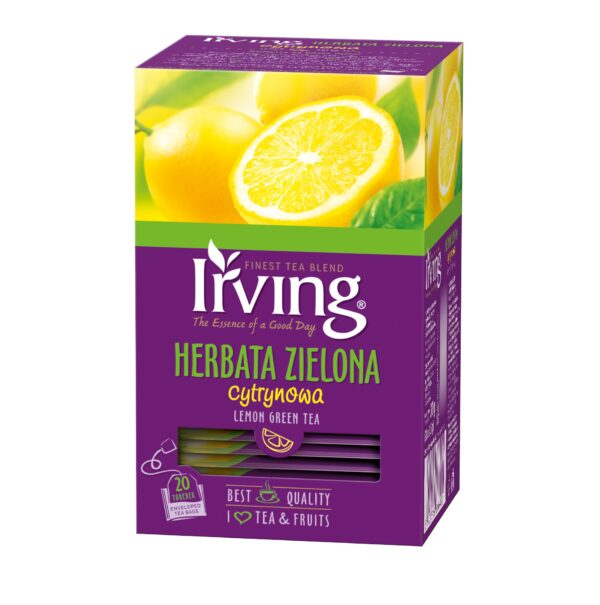 Herbata Irving zielona cytrynowa