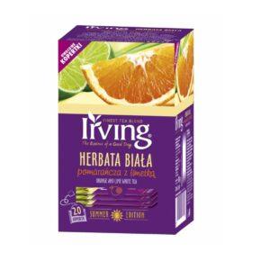 Herbata Irving biała pomarańcza z limetką