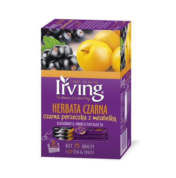 Herbata Irving porzeczka z morelą 20 kopertek