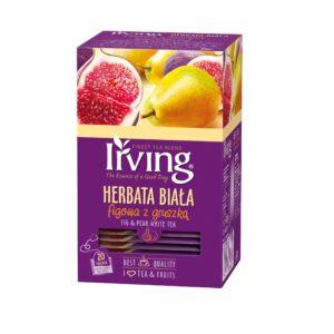 Herbata Irving biała figowa z gruszką