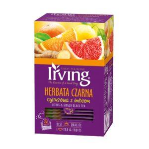 Herbata Irving czarna cytrusowa z imbirem
