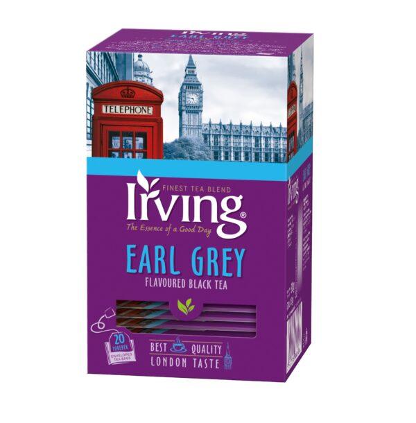 Herbata Irving Earl Grey 20 kopertek