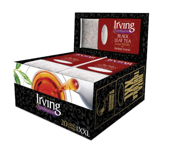 Herbata Irving czarna Assam Long bag