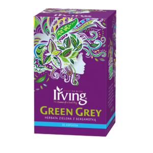 Herbata Irving Green Grey kopertki