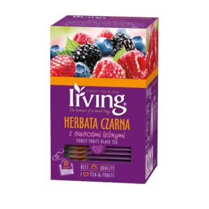 Herbata Irving czarna z owocami leśnymi