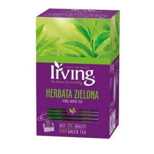 Herbata Irving zielona 20 kopertek