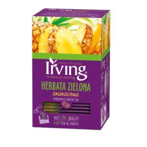 Herbata Irving zielona ananasowa