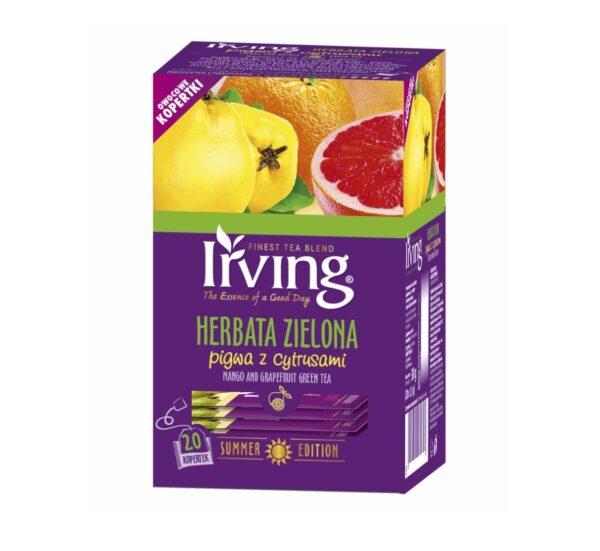 Herbata zielona Irving pigwa z cytrusami