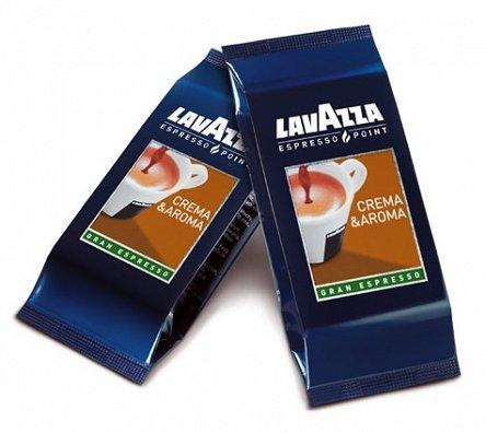 Kapsułki z kawą Lavazza EP CREMA & AROMA GRAN ESPRESSO INT (średnio-mielona) 100szt. do ekspresów