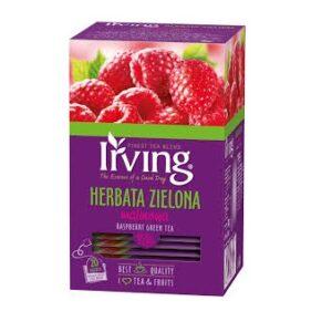 Herbata Irving Zielona Malinowa