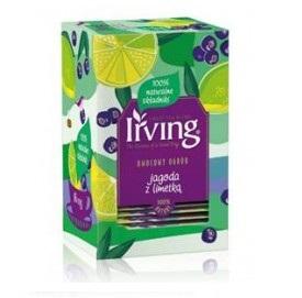 Herbata Irving czarna jagoda z limetką