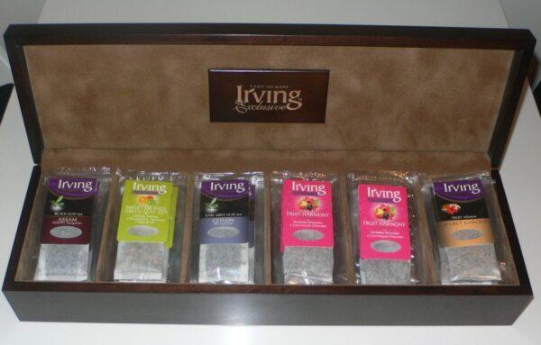 Prezenter skrzynia na herbaty Irving Long Bag