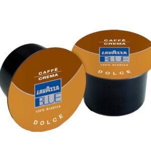 Kapsułki z kawą Lavazza BLUE CAFFE Crema Dolce 100 szt. do ekspresów