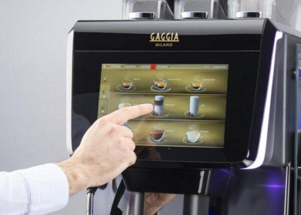 Ekspres automatyczny do kawy Gaggia La Radiosa - wyświetlacz