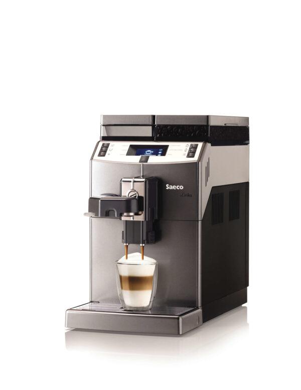 Ekspres automatyczny do kawy Saeco Liryka OTC - widok z boku