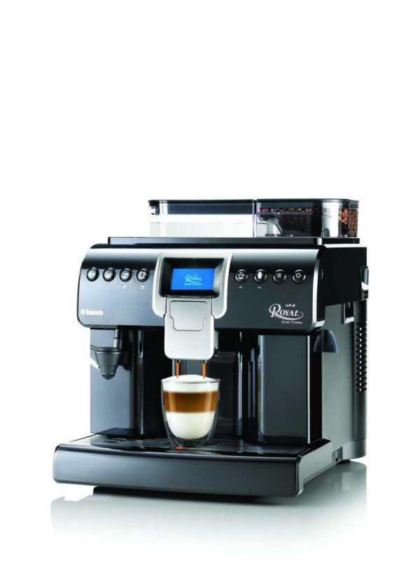 Ekspres automatyczny do kawy - Saeco Royal Gran Crema - zdjęcie z boku