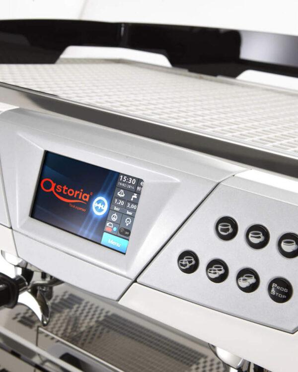 Ekspres manualny do kawy Astoria Plus4You TS - ekran