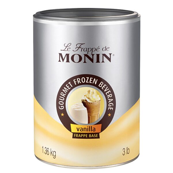 Baza waniliowy 1,36kg MONIN Vanilla Frappe Base
