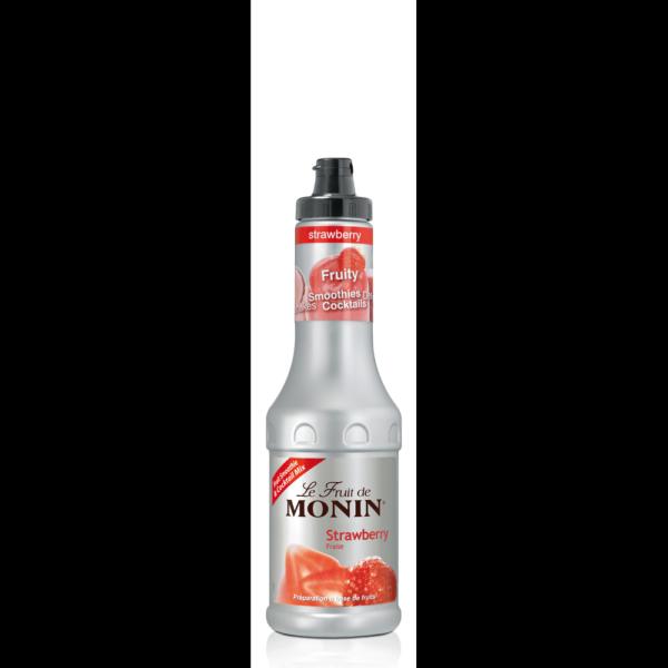 Puree truskawkowe 0,5 L MONIN Strawberry Puree