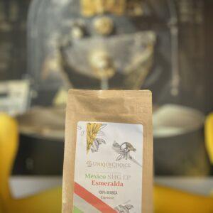 Świeżo Palona Kawa Ziarnista Esmeralda Espresso
