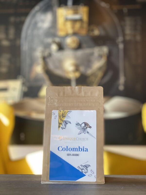 Świeżo Palona Kawa Ziarnista Kolumbia