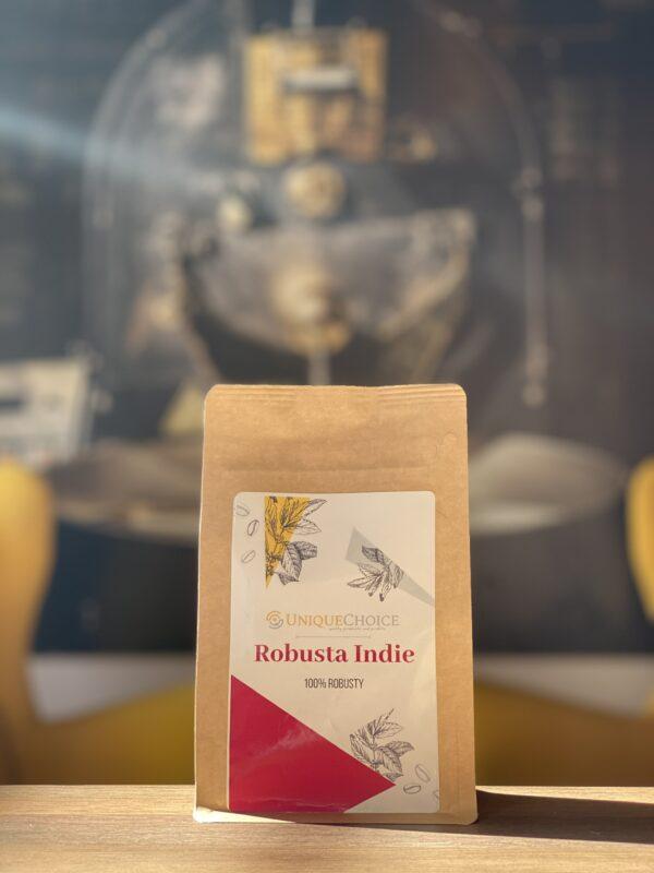 Świeżo Palona Kawa Ziarnista Robusta Indie
