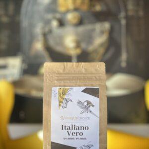 Świeżo Palona Kawa Ziarnista Italiano Vero